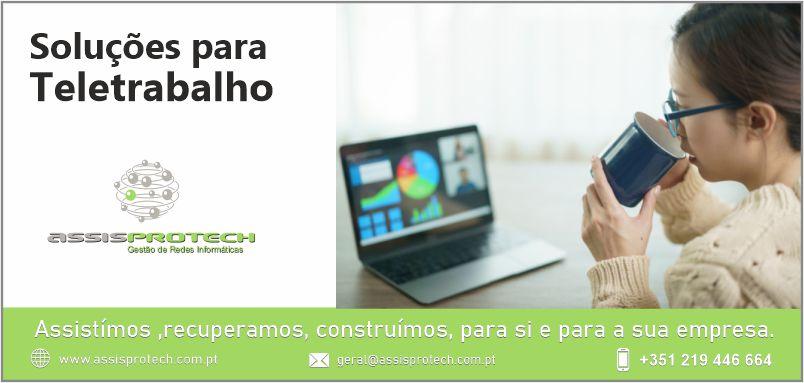 teletrabalho-assisproteck Assistência Informática Lisboa, Assisprotech